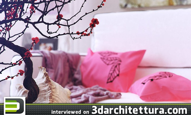 Romi Volentino's interview on 3darchitettura.com