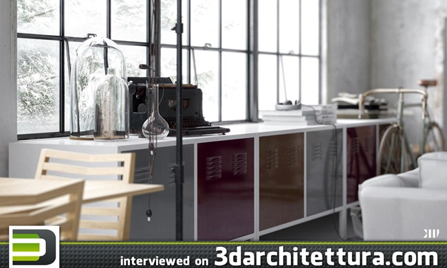 Fernando Gasperin's interview on 3darchitettura.com