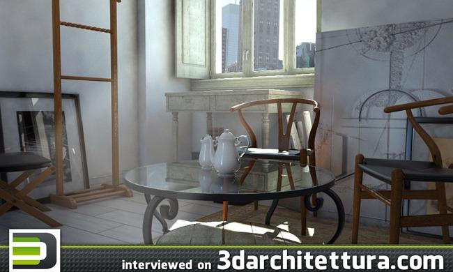Antonio Castro's interview on 3darchitettura.com