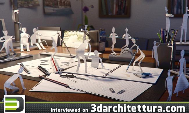 Mahmoud Keshta interviewed for www.3darchitettura.com