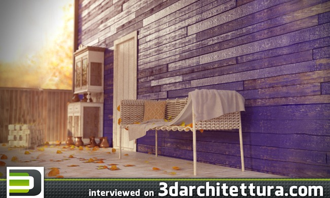 Andrey Mikhalenko interviwed for www.3darchitettura.com