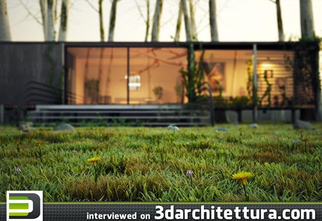 Mojtaba Yaghoobi interviewed for www.3darchitettura.com