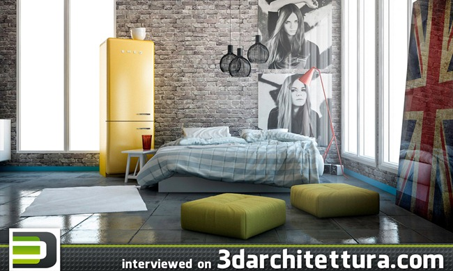 Marcin Kasperski interviewed for www.3darchitettura.com
