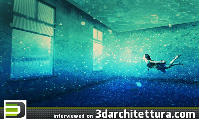 Amir Nobakht interviewed for www.3darchitettura.com