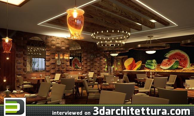 Rodrigo Navarrete interviewed for www.3darchitettura.com