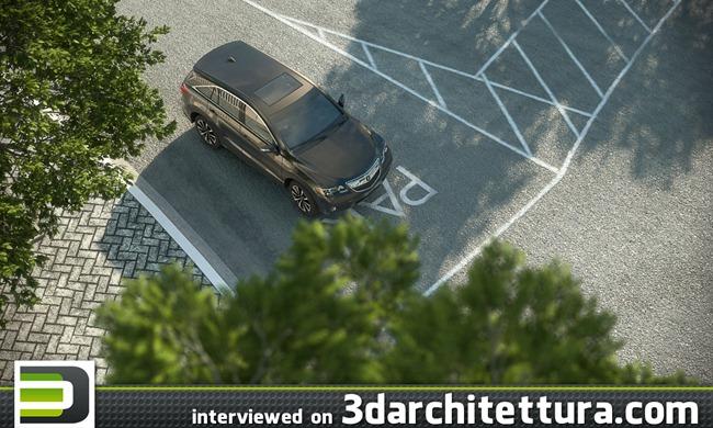 Vinicius Inacio interviewed for www.3darchitettura.com