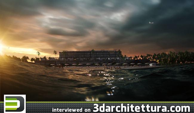 Amman Abdulkarim interviewed for www.3darchitettura.com