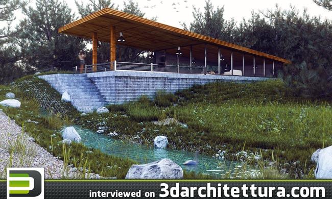 Mohammad Jokar interviewed for www.3darchitettura.com