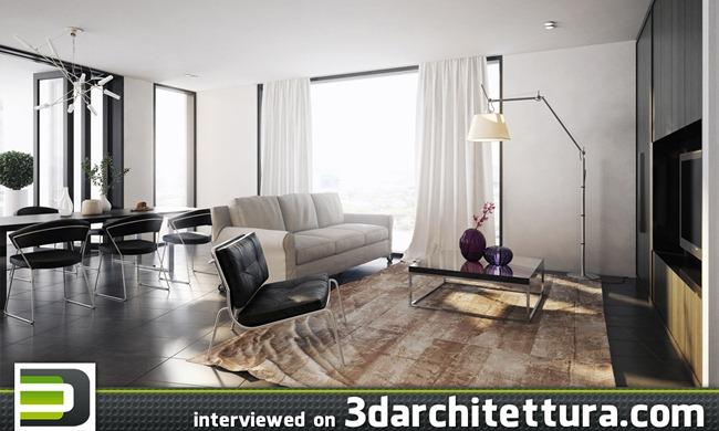 Vic Nguyen interviewed for www.3darchitettura.com