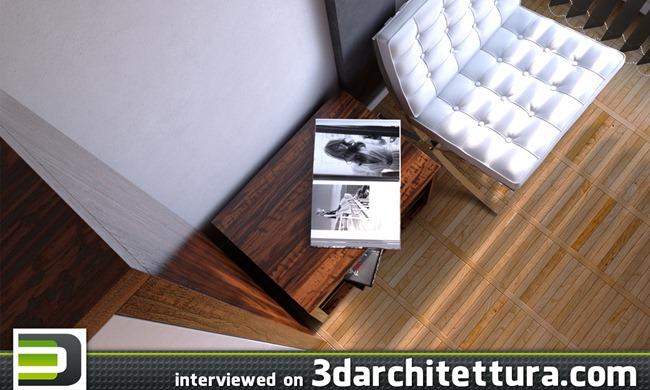 Pedro Torgal interviewed for www.3darchitettura.com