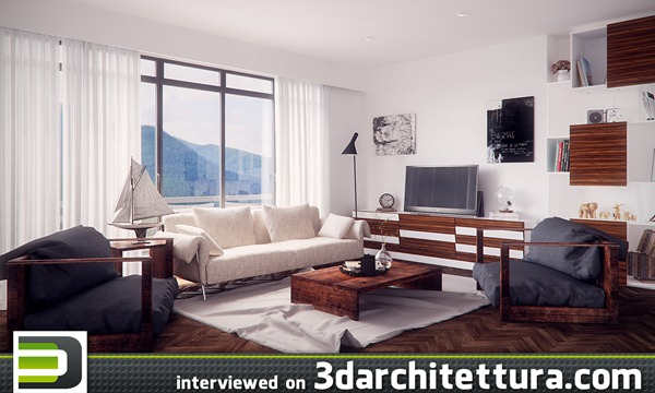 Arash Fttahi interviewed for www.3darchitettura.com