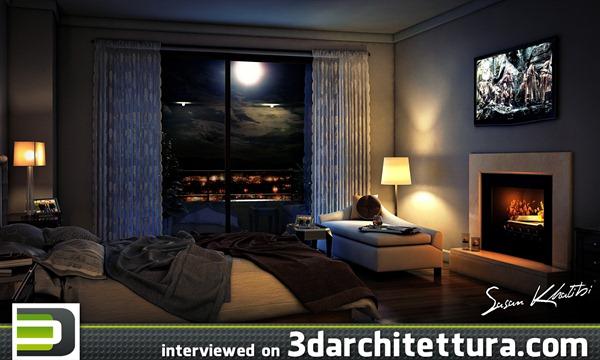 Sasan Khatibi interviewd for www.3darchitettura.com
