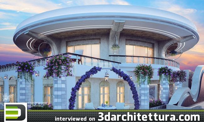 Mohsen Hashemi interviewed for www.3darchitettura.com