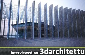 3d, architecture, 3darchitettura, render, Wang Si Min