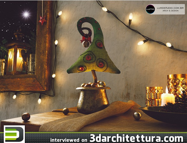 Tiago Sillos Padovani interviewed for www.3darchitettura.com