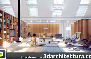3d, architecture, 3darchitettura, render, Germano Viera