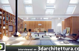 3d, architecture, 3darchitettura, render, Germano Viera