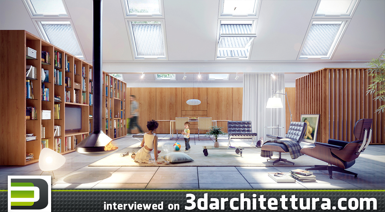 Germano Vieira: 3d renders for architecture
