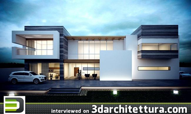 Praveen Illusion interviewed for www.3darchitettura.com