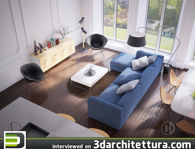 Claudiu Hanga interviewed for www.3darchitettura.com