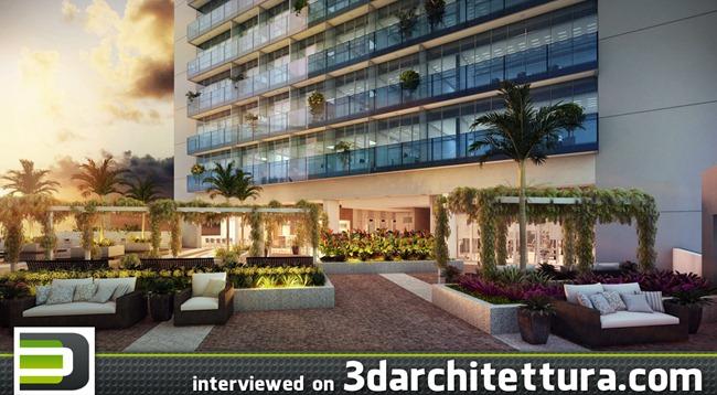 Derek Henriques interviewed for www.3darchitettura.com
