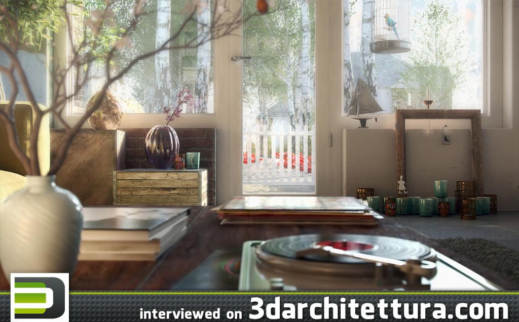 3darchitettura, Caue Rodrigues, render, 3d