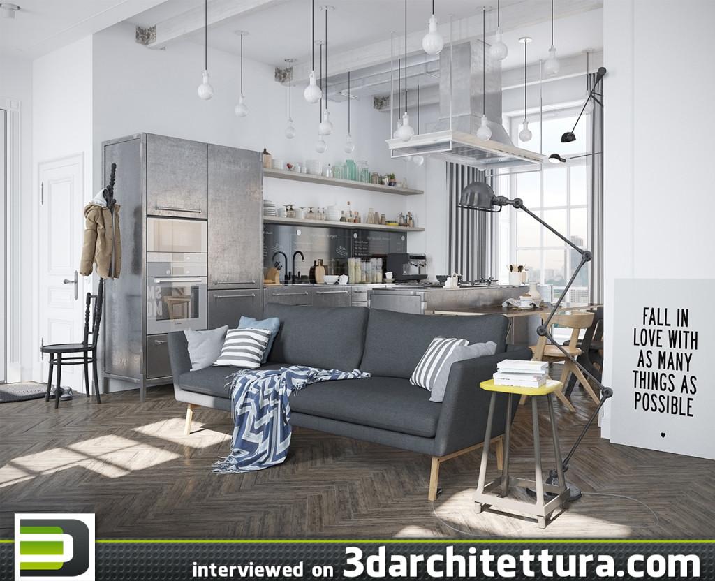 Denis Krasikov, render, 3d, design, 3darchitettura