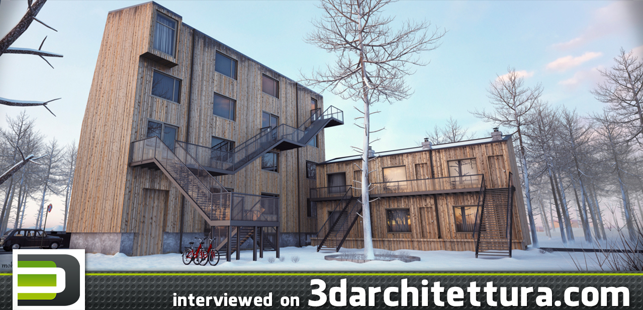 Mohamed Sabry interviewed for 3darchitettura: render, 3d, CG, design, architecture