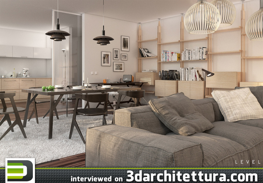 Stefano Mombelli and Alan Alberizzi (LEVEL Studio) interviewed for 3darchitettura: render, design, 3d, CG, architecture