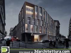 Stefano Mombelli and Alan Alberizzi (LEVEL Studio) interviewed for 3darchitettura: render, design, 3d, CG, architecture