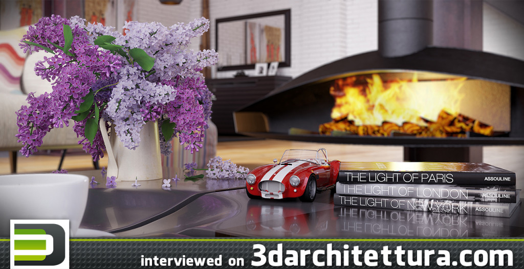 Mário Nogueira interviewed for 3darchitettura.com: render, design, 3d, CG, architecture