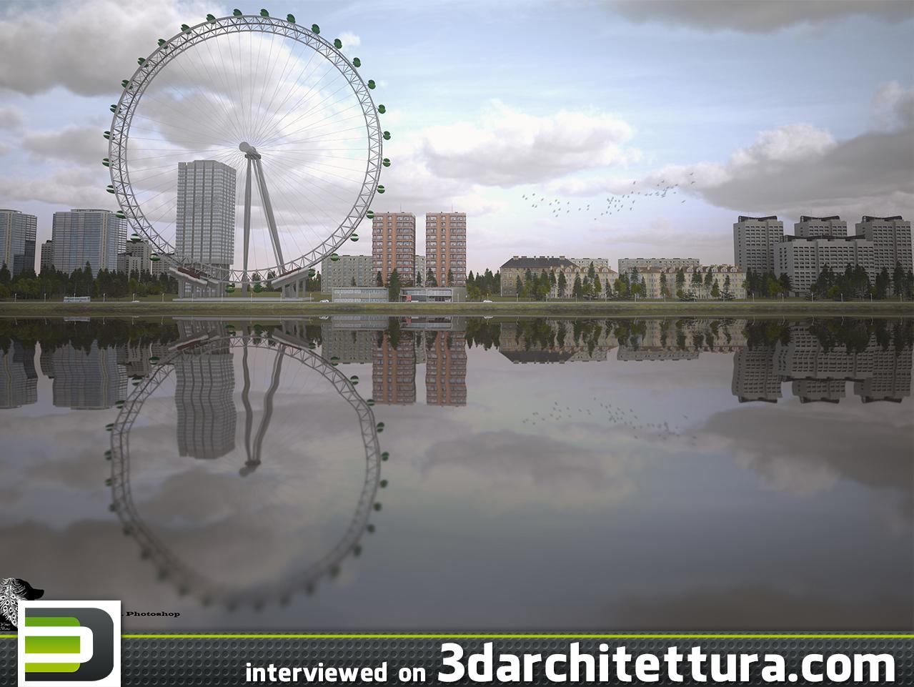 Yones Bana interiewed for 3darchiitettura: render, 3d, CG, design, architecture
