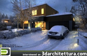Yones Bana interiewed for 3darchiitettura: render, 3d, CG, design, architecture