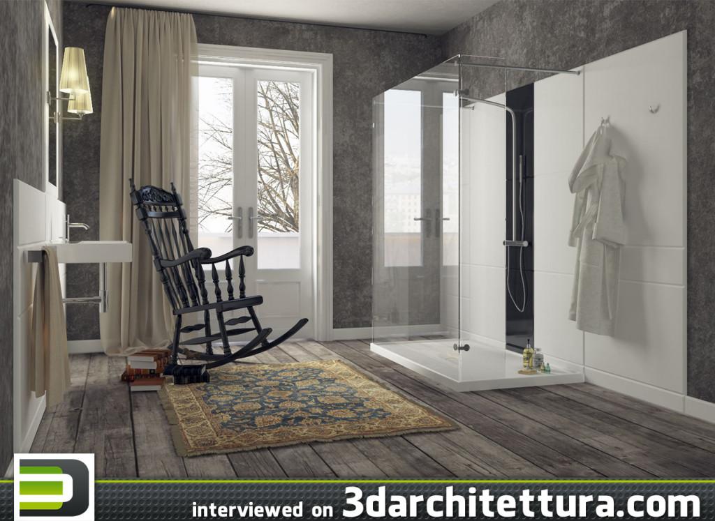 Vadim Korotkov interviewed for 3darchitettura.com: render, 3d, design, CG, architecture