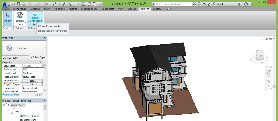 Revit-to-CL3VER-plugin