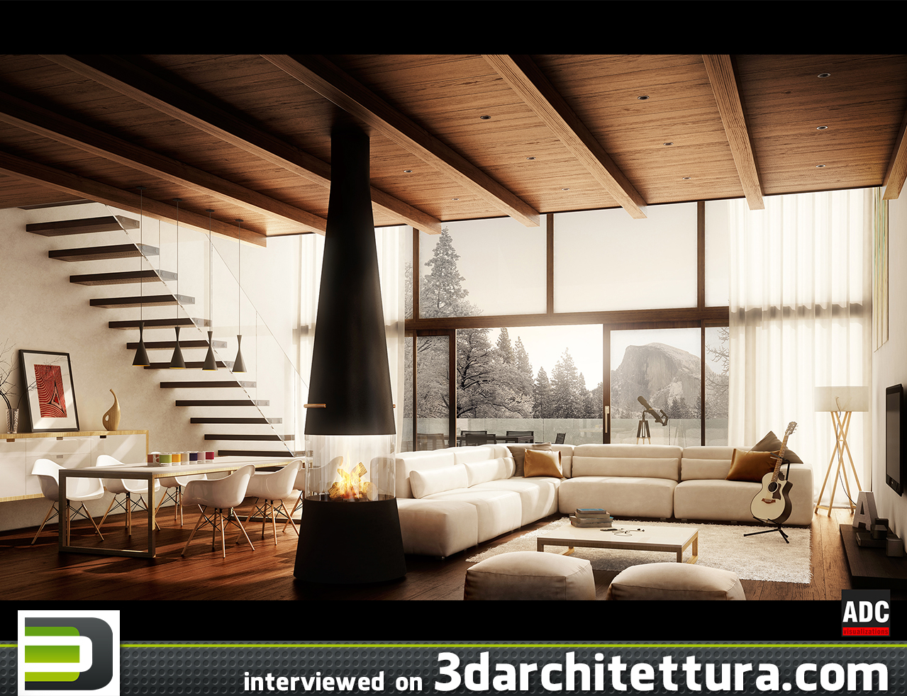 Andrea De Cet interviewed on 3D Architettura: render, 3d, cg, design, architecture