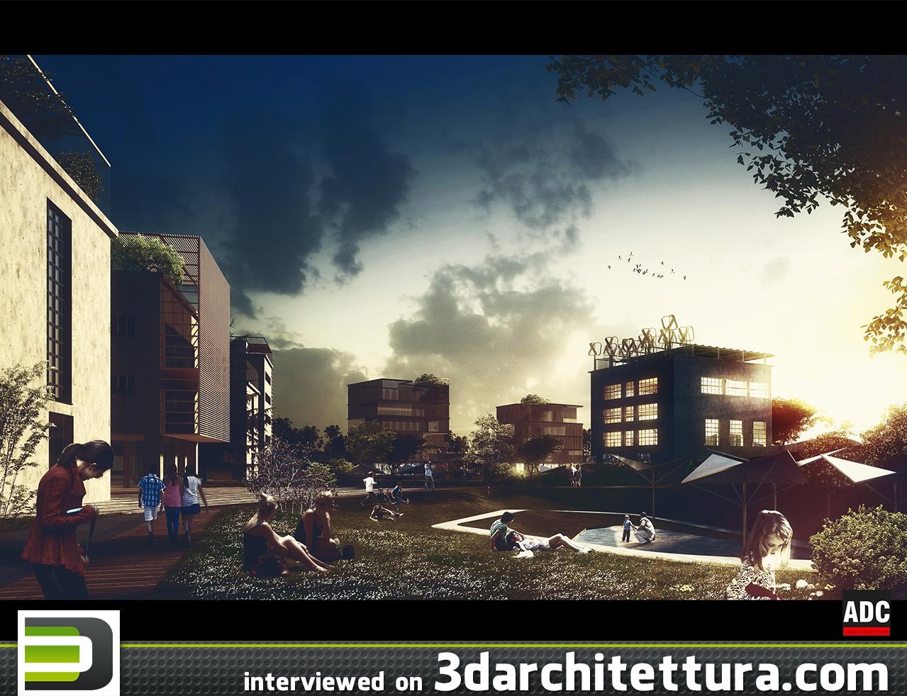 Andrea De Cet interviewed on 3D Architettura: render, 3d, cg, design, architecture