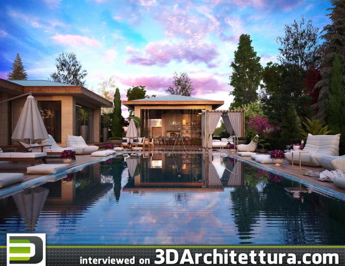3D Architettura interviewed Dimitar Ivanov Gongalov: 3d, architecture, design, render, CG. www.3darchitettura.com