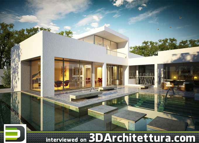 MIESGGROUP interviewed for 3D Architettura: 3d, architecture, design, render, CG