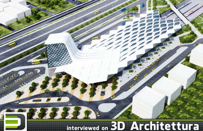 Omar Rikabi interviewed on 3D Architettura: architecture, design, render, 3d, CG. www.3darchitettura.com