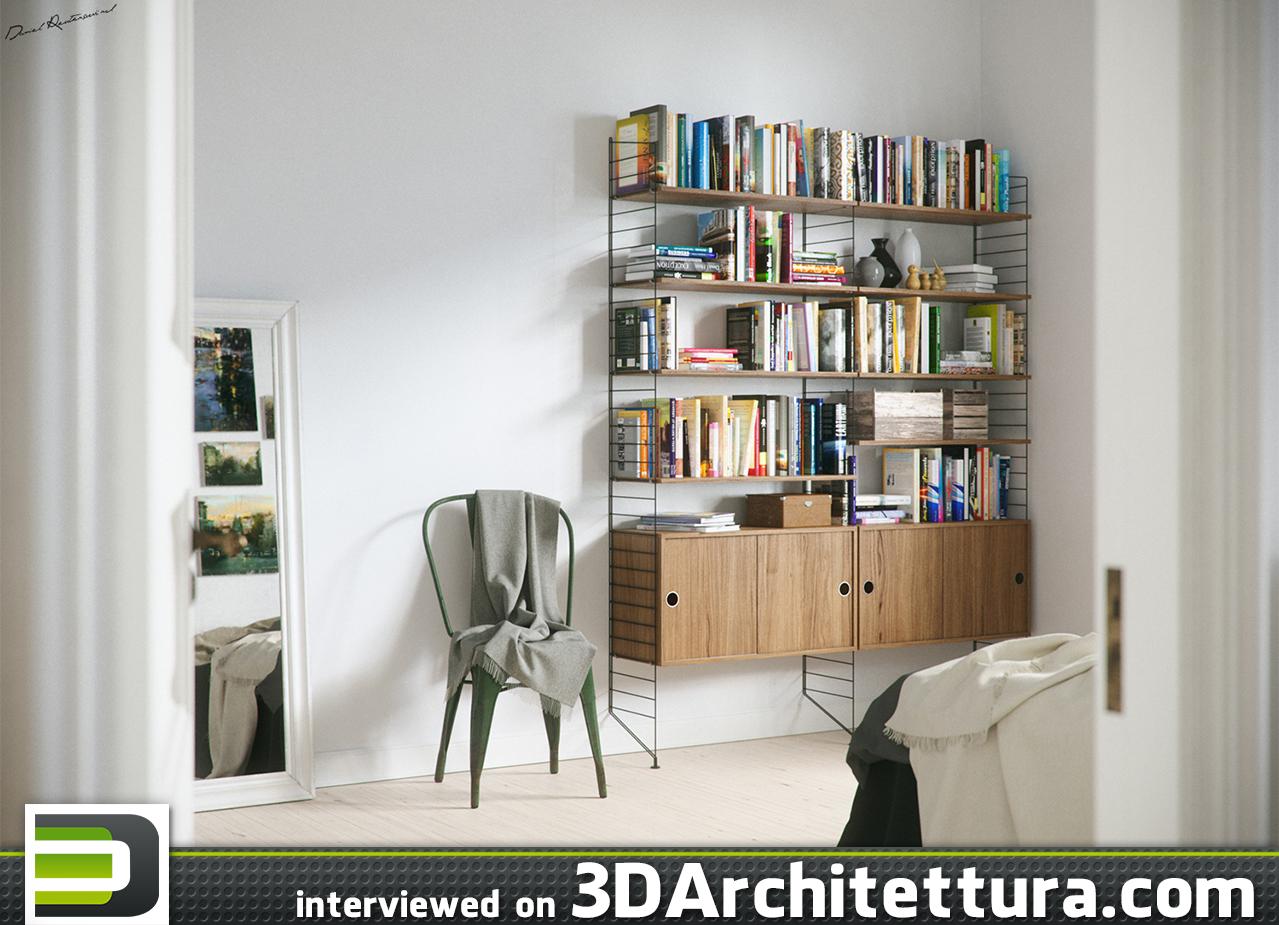 Daniel Reutersward from Sweden interviewed for 3DArchitettura.com: design, render, 3d, CG, architecture