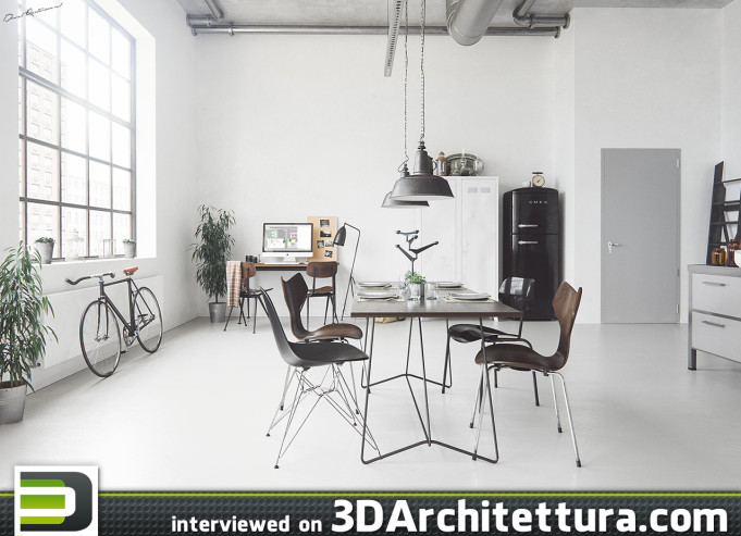 Daniel Reutersward from Sweden interviewed for 3DArchitettura.com: design, render, 3d, CG, architecture