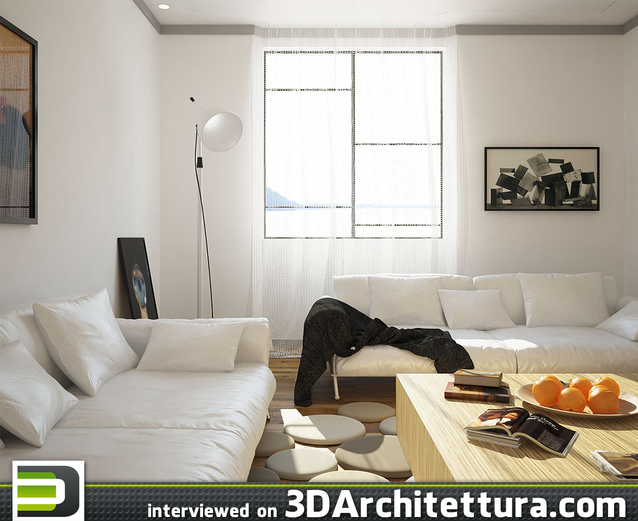 Alessandro Berti interviewed on 3D Architettura: render, 3d, design, architecture, CG