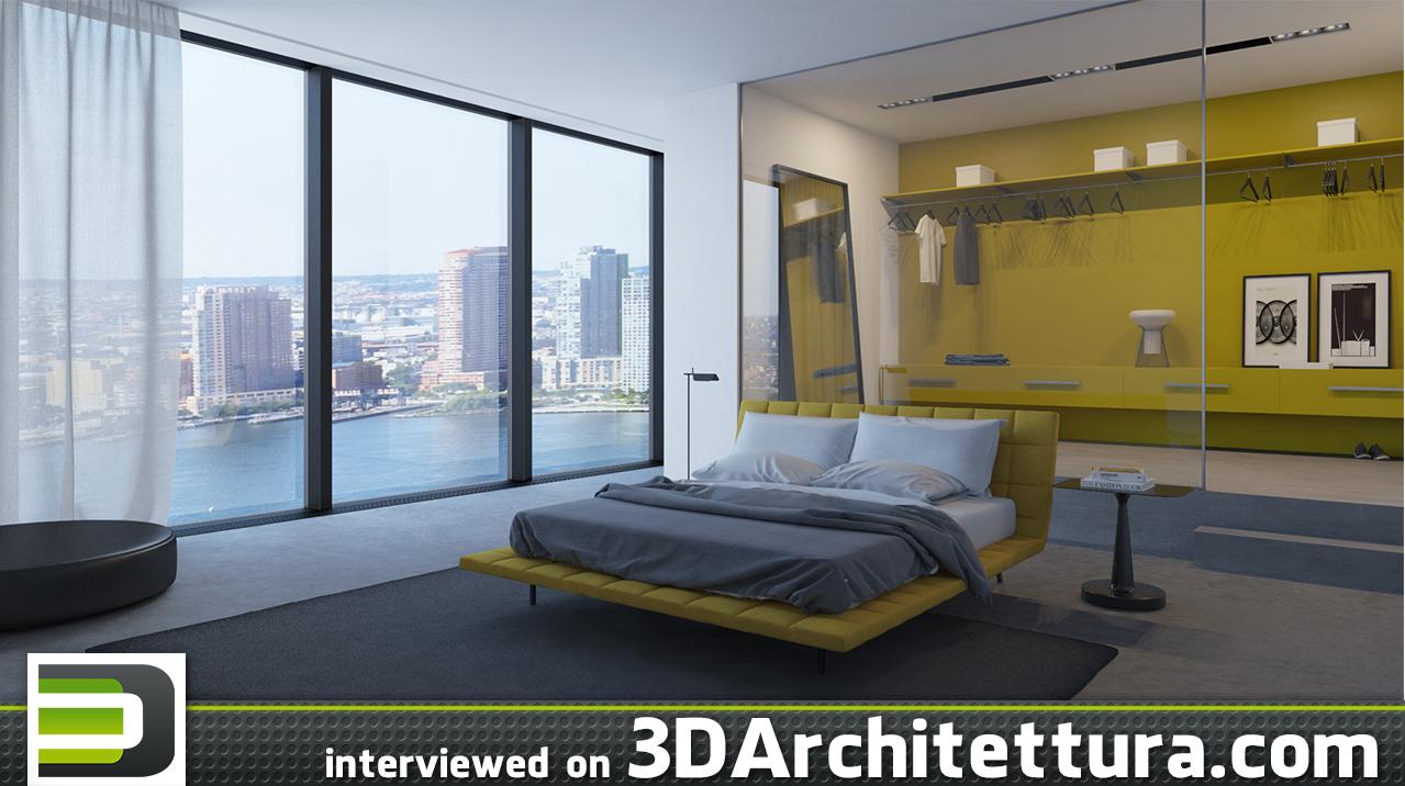 Pedro Antunes from Portugal interviewed for 3DArchitettura: render, 3d, CG, design, interior design, architecture