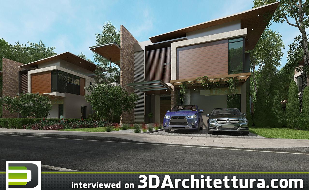 Raji Abdulkabir interiewed on 3D Architettura.com
