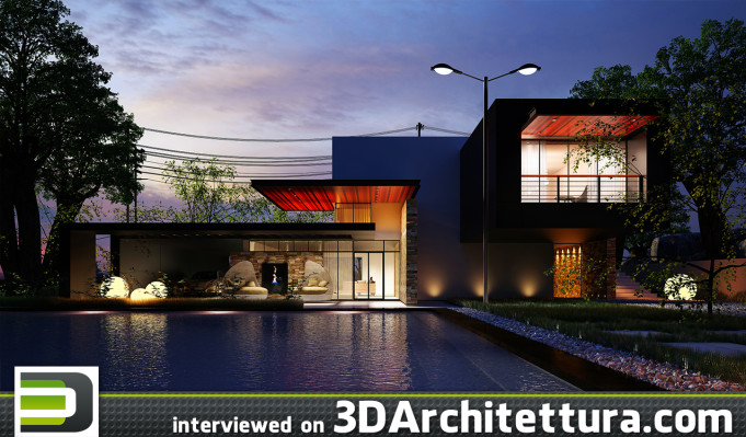 Raji Abdulkabir interiewed on 3D Architettura.com