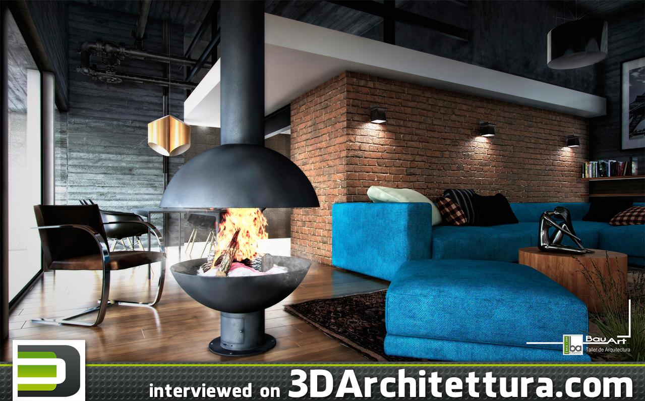 Christhian Retana interview for 3dArchitettura