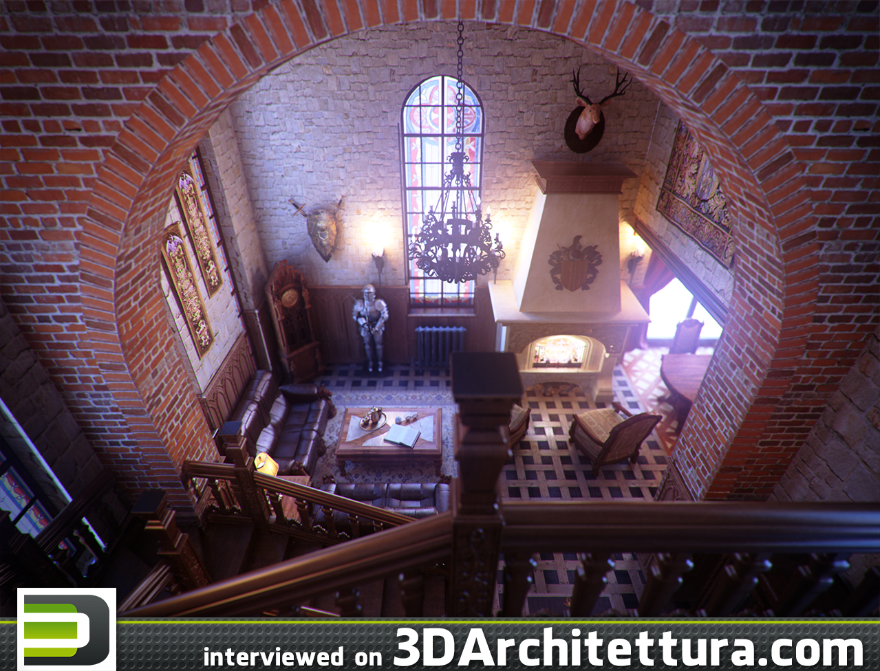 3dvisdesign interview to 3darchittetura about 3d,CG and rendering