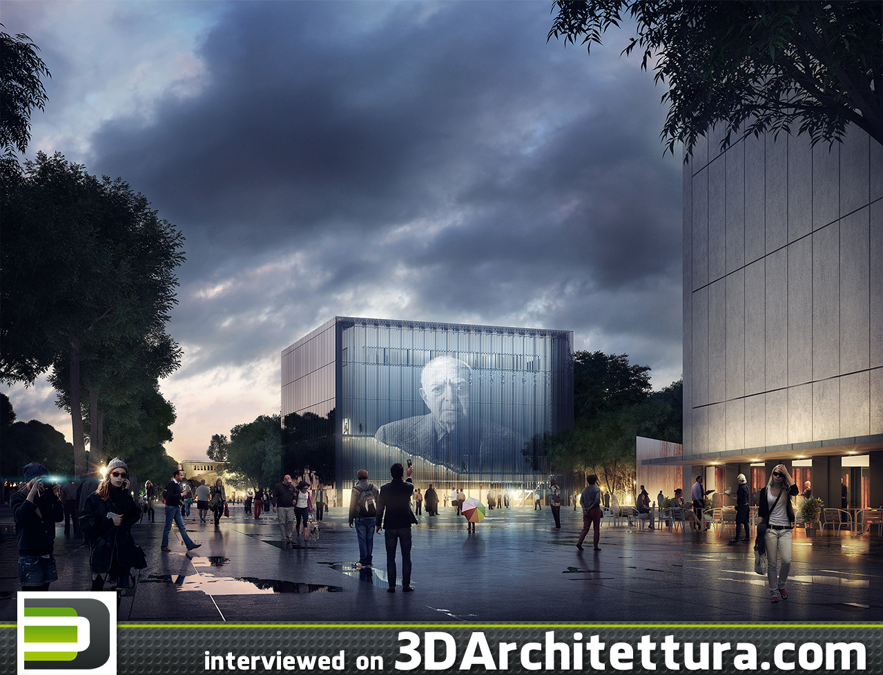 András Káldos , CEO at Brick Visual, Hungary, spoke to 3DArchitettura about artistic architectural visualizations and keeping up with technological progress