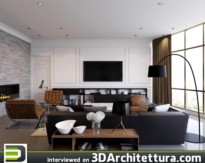 Viacheslav Serbov, freelance CG artist fro Ukrain interviewed on 3DArchitettura about rendering and visualization
